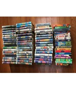 70+ Various, Assorted Family, Children VHS Videos see details - $49.50