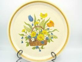 Vintage Mikasa Stone Manor Garden Bouquet 1-Dinner Plate 10 7/8in -F5815 - $8.90