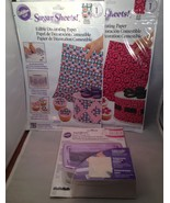 2 Package Sugar Sheets and Border Punch Set - $9.75