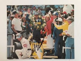 Al Unser Jr Indy 500 Hand Signed 8 X 10 Photo Autographed COA - $24.95