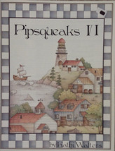 Pipsqueaks VI By Kathi Walters Pen & Ink Holiday Ornaments Tole Painting Book. - $14.98