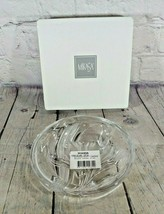 Mikasa Clear & Frosted Round Embossed Spring Iris Candy/Trinket Dish - $12.86