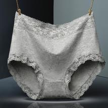 Women Cotton Underwear High Waist Breathable Trigonometric Lingeries Fem... - $13.86+