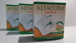 ALTACURA - Vapour - 10 Patches x 3 Boxes - $30.00