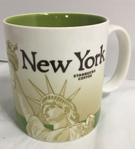 2010 Starbucks New York Coffee Mug 16oz Collector Series Statue of Lady ... - $14.84