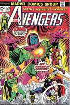 The Avengers Comic Book #129, Marvel Comics Group 1974 NEAR MINT - $43.46