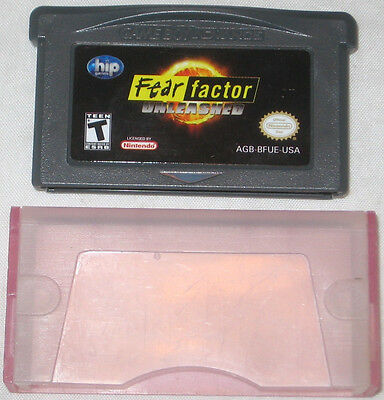 Primary image for Fear Factor: Unleashed (Nintendo Game Boy Advance, 2004) U. S. A