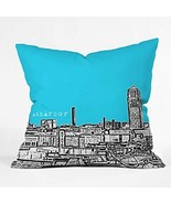 DENY Designs Bird Ave Ann Arbor Sky Throw Pillow, 16 by 16-Inch - $33.29