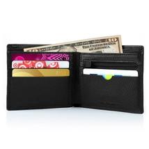 Wallets for Men, Vitalismo Checkbook Wallet PU Leather Money Clip Rfid Blocking  - $14.59