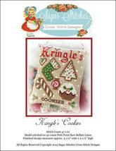 Kringle's Cookies christmas cross stitch chart Sugar Stitches Designs  - $6.00