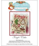 Kringle's Cookies christmas cross stitch chart ... - $6.00