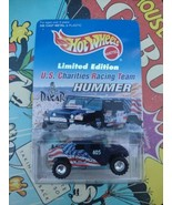 """Hot Wheels 1997 U.S. Charities Racing Team Dakar Limited Edition """"HUMMER""""  - $18.80"""