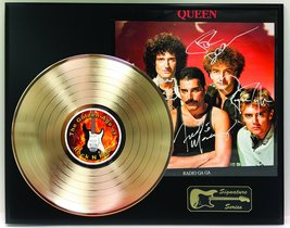 Queen LP Record Reproduction Signature Series Limited Edition Display - $149.95