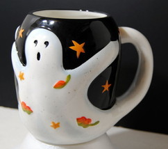 Halloween Mug 3D Design Susan Winget Coffee Tea Ghost Display Ceramic De... - $31.00