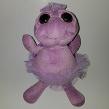 "Unipak 12"" Big Eyes Purple Turtle Plush Stuffed Animal Toy Lovey - $21.73"