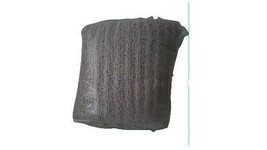 """West Elm Chenille Rib Throw 50""""x60"""" Stone Gray NEW in Package - $34.58"""