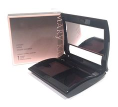 Mary Kay Magnetic Black Compact~Unfilled~Medium~NIB~Cosmetic Makeup~Cust... - $14.99