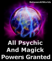 All Psychic & Magick Powers Open 3rd Eye + Prosperity Betweenallworlds Spell  - $139.27