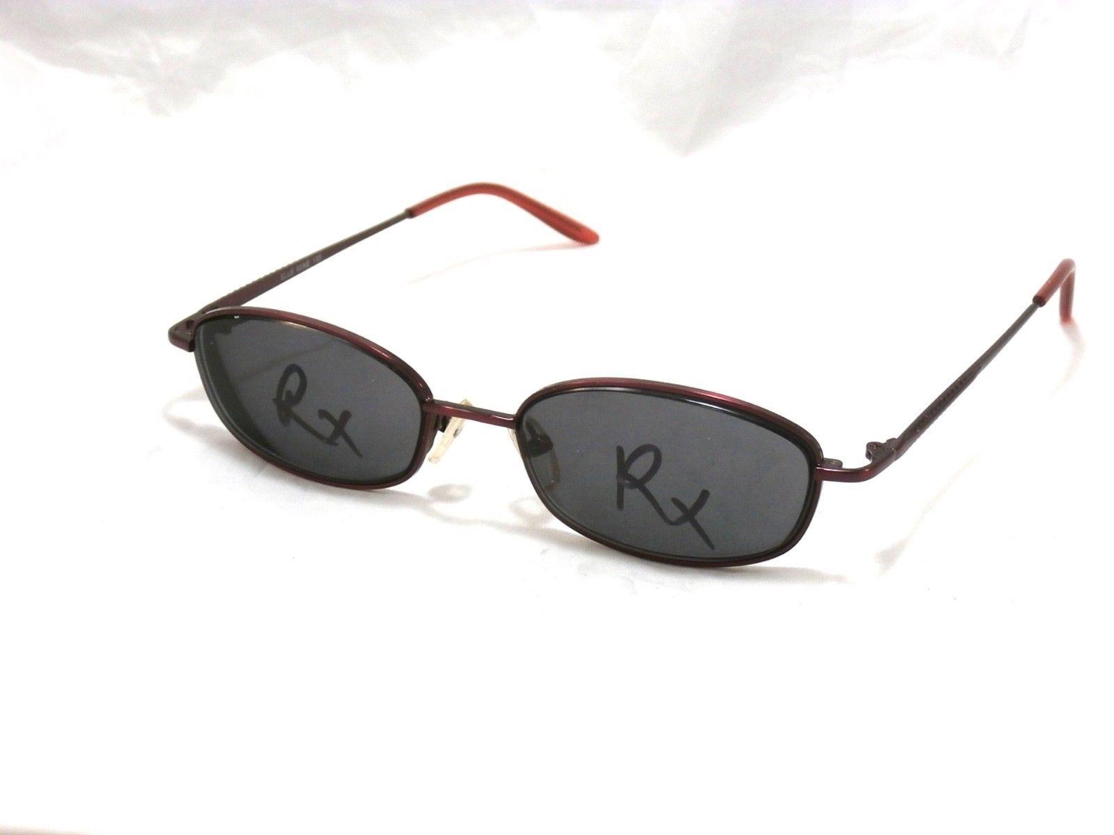 Elle Women's Metal Eyeglasses Frame, Wine 53-17-135  #B01 - $22.23