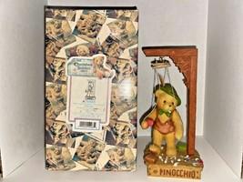 "Cherished Teddies Pinocchio ""You've Got My Heart On A String"" Figurine - $24.99"