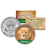 CHEETAH * Animal Kingdom Series * JFK Kennedy Half Dollar U.S. Coin - €7,57 EUR