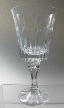 Lenox Cut glass Flourish Crystal  goblet Made in USA Mt Pleasant PA mou... - $23.05