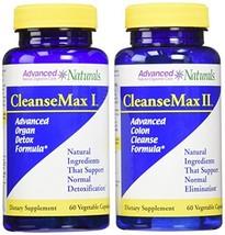 Advanced Naturals Cleansemax 2-Part Kit