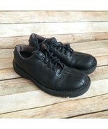 Dr. Martens AW004 9424 Air Wair Doc DMs Black Leather Oxfords Size 7 - $33.17