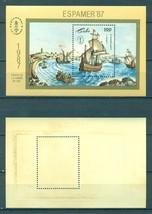 """Cuba 1987 International Stamp Exhibition """"ESPAMER '87"""" - La Coruna, Spai... - $1.60"""
