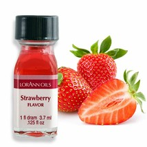 LorAnn Super Strength Strawberry Flavor, 1 dram bottle (.0125 fl oz - 3.... - $12.47
