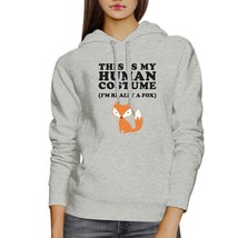 This Is My Human Costume Fox Grey Hoodie - $25.99+