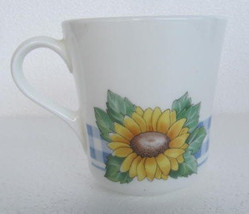Sunsations (Corelle) by Corning Sunflower Design Small Flat Cup - $6.99