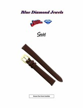 12mm Speidel Women's Brown Fine Grain Cowhide Watchband 247430 - $9.95