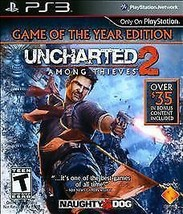 Uncharted 2: Among Thieves -- Game of the Year Edition (Sony PlayStation... - $6.01
