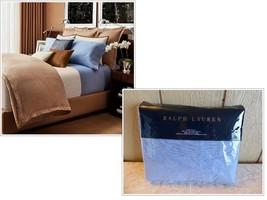$185.00 Ralph Lauren Dayne King Flat Sheet, Blue - $49.15