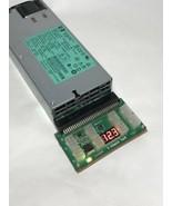 HP 1200 Watt 110-120V Power Supply DPS-1200FB A Breakout Board and GPU C... - $47.52
