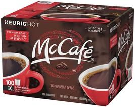 McCafe Premium Roast Coffee (100 K-Cups) - $56.09