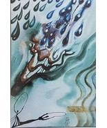 SALVADOR DALI ALICE IN WONDERLAND - The Pool of Tears - Framed Art Print - $63.10
