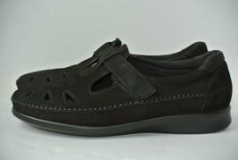 SAS Roamer Womens 11 M Black Leather T-strap Oxfords Tripad Comfort Shoe... - $49.49