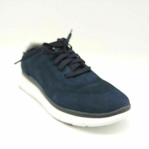 Vionic Womens Fresh Joey Lace Up Sneakers Navy Memory Foam Insoles Sz  5M NEW - $45.18