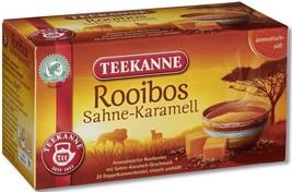 Teekanne South African ROOIBOS Tea:Cream & Caramel- 20 tea bags- Made in... - $5.89