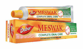 4 ×Dabur Meswak ToothPaste with extract of Miswak plant 200 g Delivery i... - $29.10