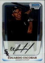 2011 Bowman Chrome Prospects #BCP38 Eduardo Escobar - Baseball Card - $0.80