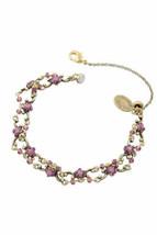 Bracelet en laiton Michal Negrin cristaux de Swarovski # 100171880007 - $103.76