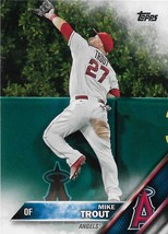 Mike Trout Topps 2016 #1 Anaheim Angels - $0.75