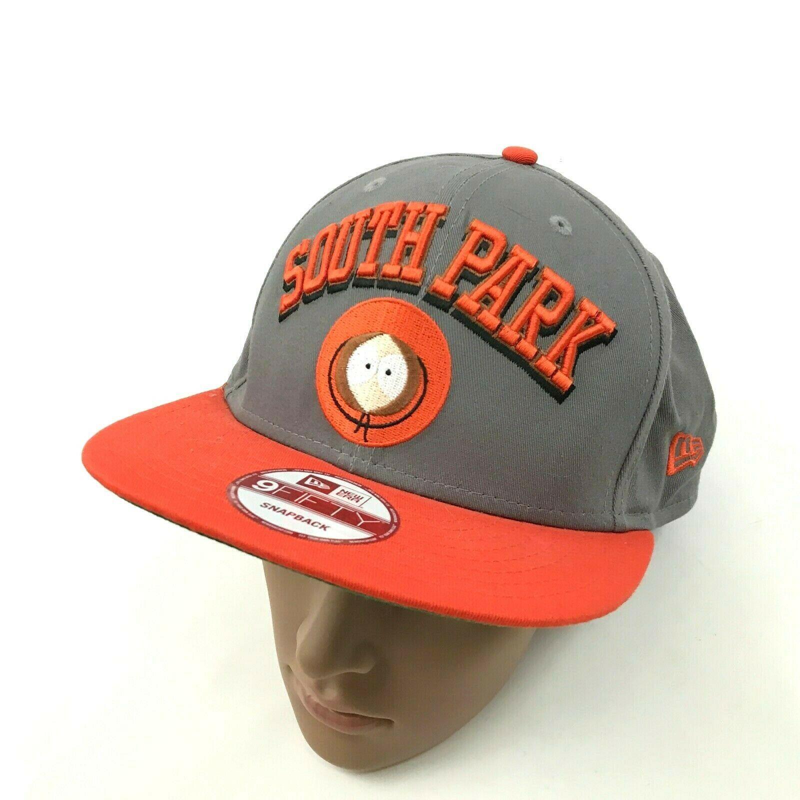 super popular 0fc04 dacb5 NEW New-Era SOUTH PARK Hat 9Fifty Snapback Gray Baseball Cap KENNY  McCORMICK -  22.79