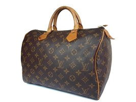 Authentic Louis Vuitton Speedy 30 Monogram Canvas Hand Bag LH1669 - $349.00