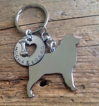 NEW Australian Shepard  Keychain Aussie Jewelry Dog Lover - $18.00