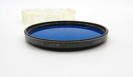 HOYA - 80A Blue Filter 82mm - w/ Case - Japan - Screw in - Super Clean C... - $4.00