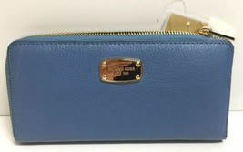 (New) MICHAEL KORS ZA CONTINENTAL JET SET Zip Wallet 38S7CTTZ7L - $89.09